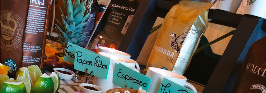 Seminário do Café com a Starbucks